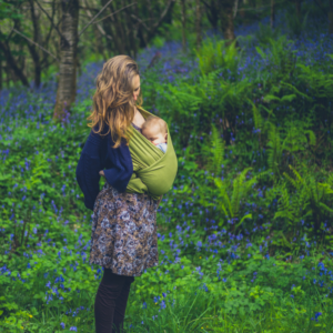 Attachment parenting and baby wearing