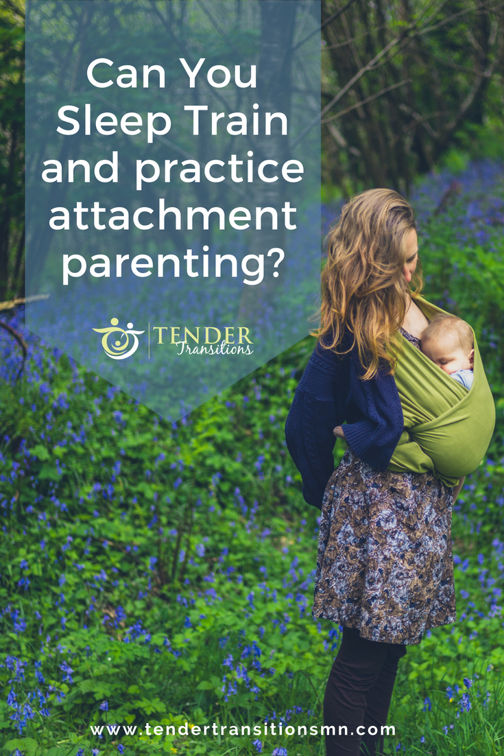 Can you sleep train and practice attachment parenting?