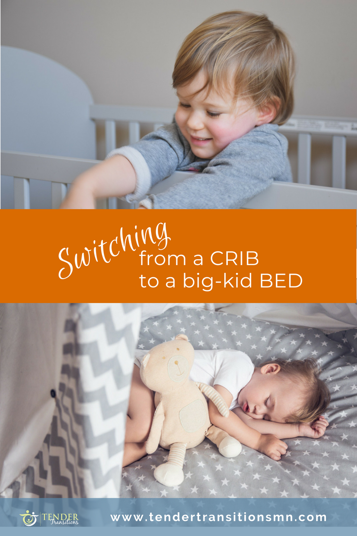 Transitioning from a crib to a bed