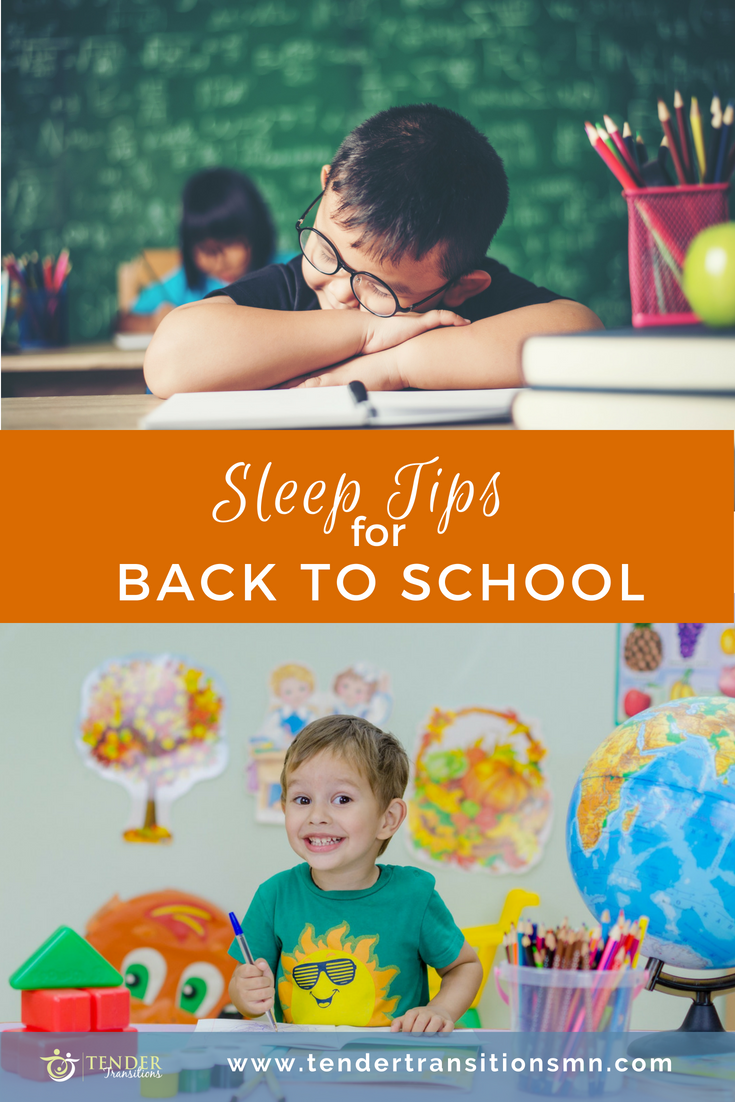 Bedtime Tips for Back To School