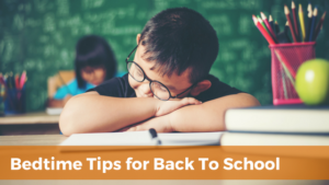 Back to School blog graphic | Minnesota Sleep Consultant | Tender Transitions