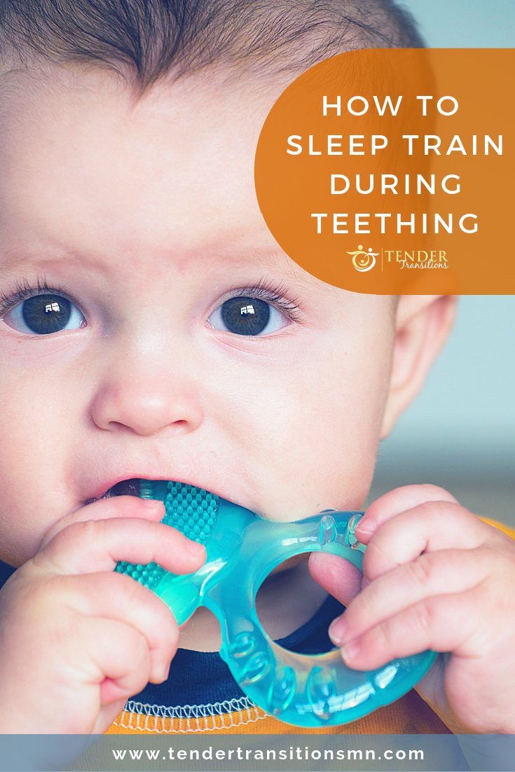 Does teething affect sleep training?