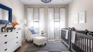 use blackout drapes or curtains