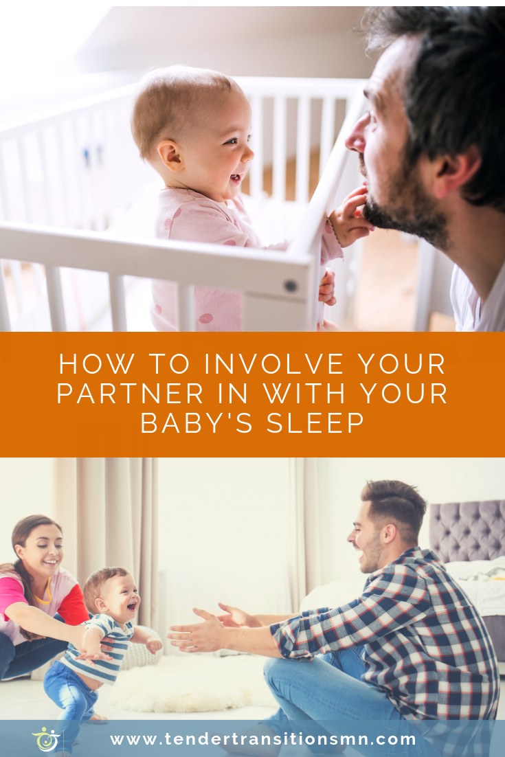 how to involve your partner with sleep training