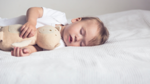 Are white noise machines safe? Toddler sleeping with teddy