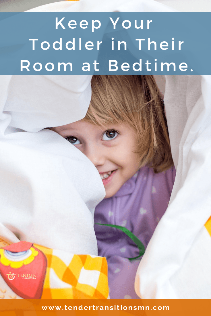 keeping your toddler in their room