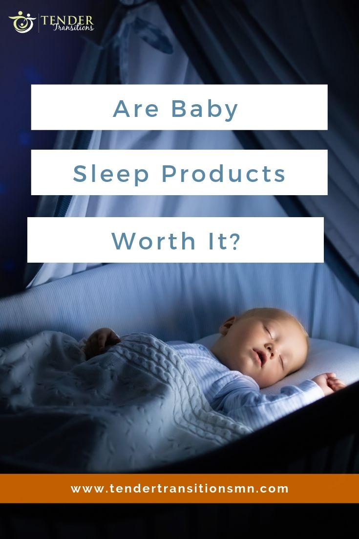 Are baby sleep products worth it? Baby in high-tech nursery. Is it all needed?