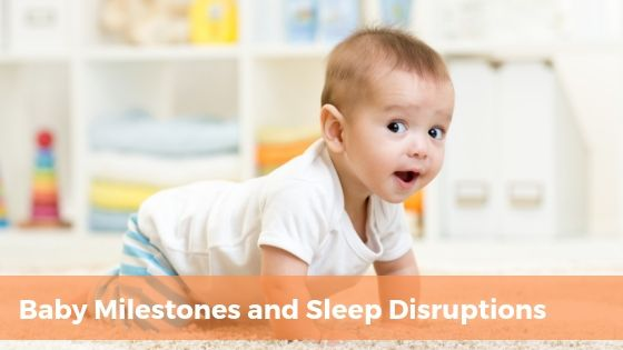 baby starting to crawl and sleep disruptions | Tender Transitions