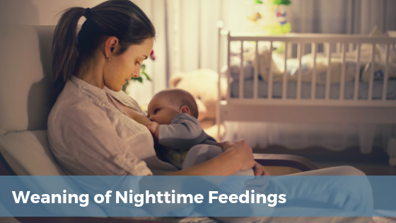 when to wean nighttime feedings page | Tender Transitions