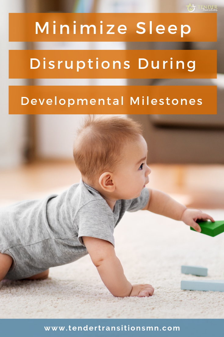 minimize sleep disruptions during baby development, baby crawling