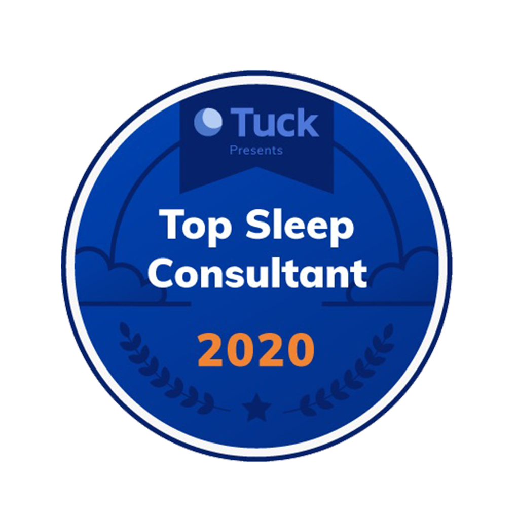 Top Sleep Consultant Badge - Tender Transitions