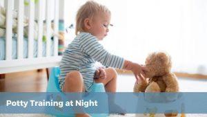 potty training at night