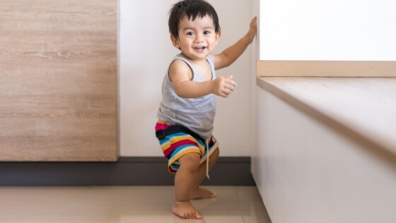happy toddler - Tender Tranistions