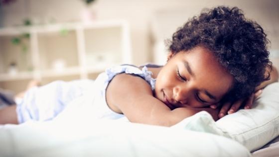 child sleeping training results in better sleep and better behavior
